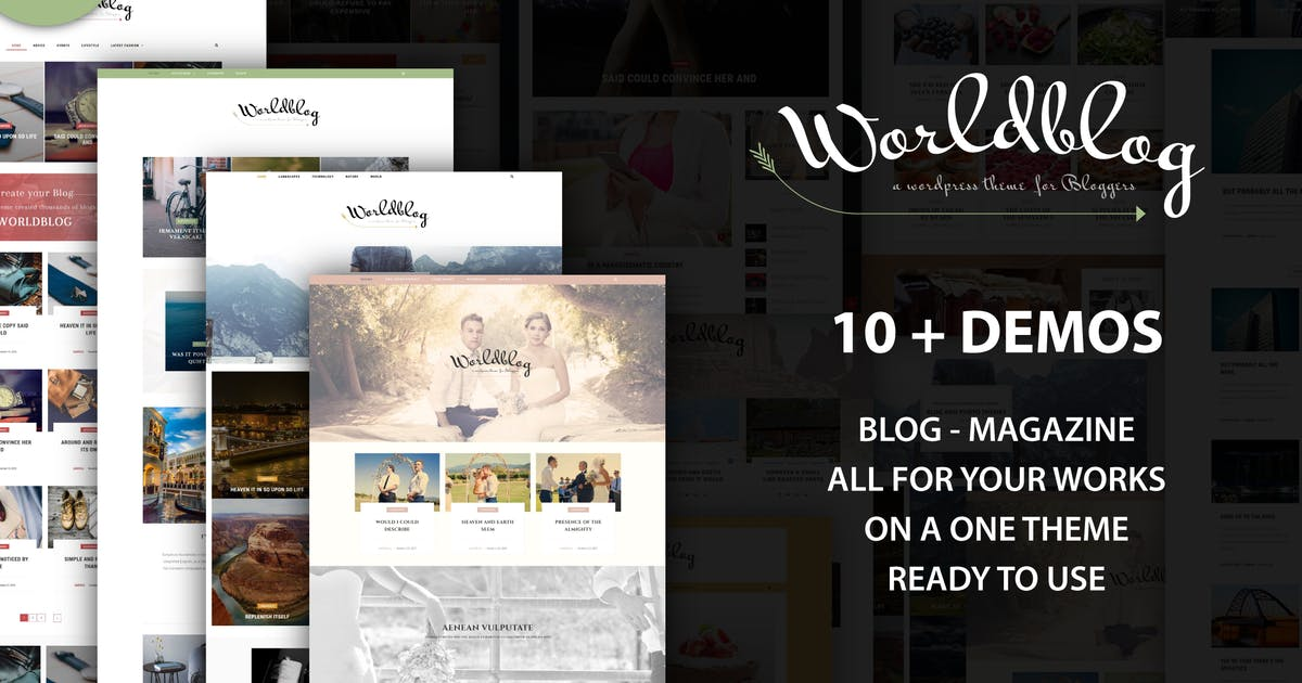Download Worldblog - WordPress Blog and Magazine Theme by ad-theme