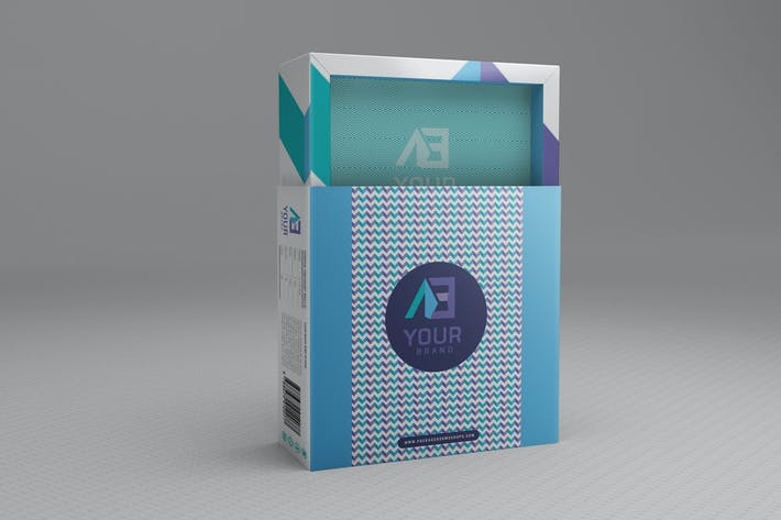 Thumbnail for Package Box Mockups Vol2