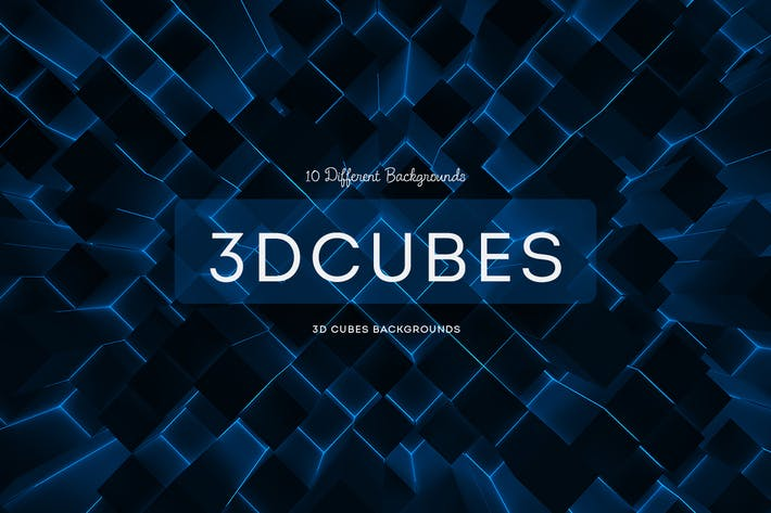 Thumbnail for 3D Cubes Backgrounds