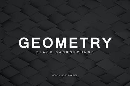 Black Geometry Backgrounds 3