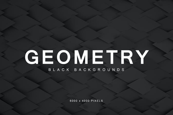 Thumbnail for Black Geometry Backgrounds 3