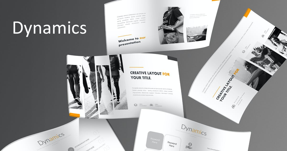 Download Dynamics - Keynote Template by aqrstudio