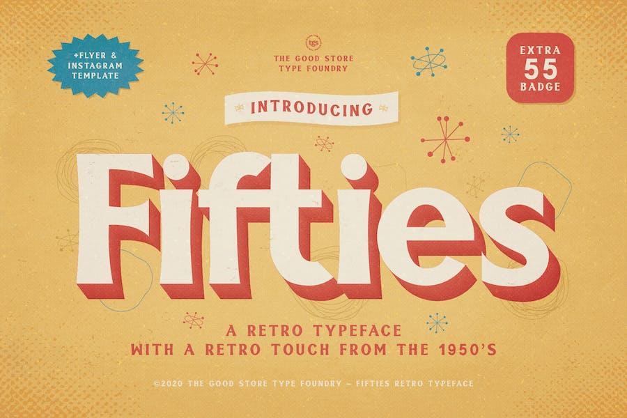 Fifties Typeface