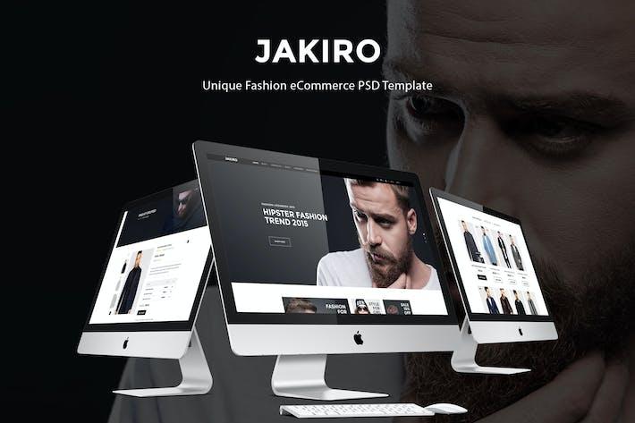 Thumbnail for Jakiro - Fashion PSD Template