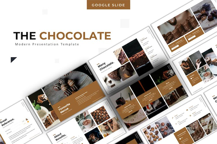 Thumbnail for The Chocolate - Google Slide Template