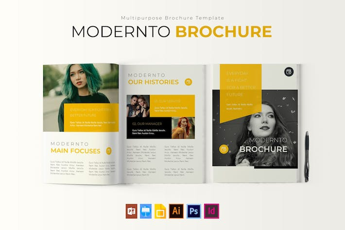 Thumbnail for Modernto | Brochure Template