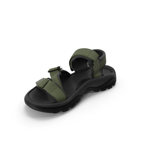 Mens Sandals Green