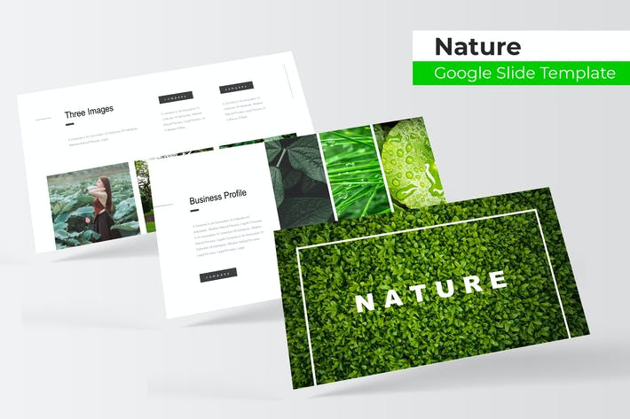 Thumbnail for Nature - Google Slide Template