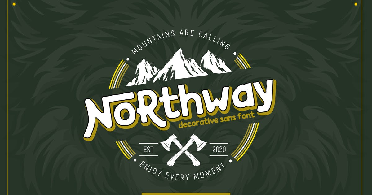 Download Northway | Vintage Font by garisman