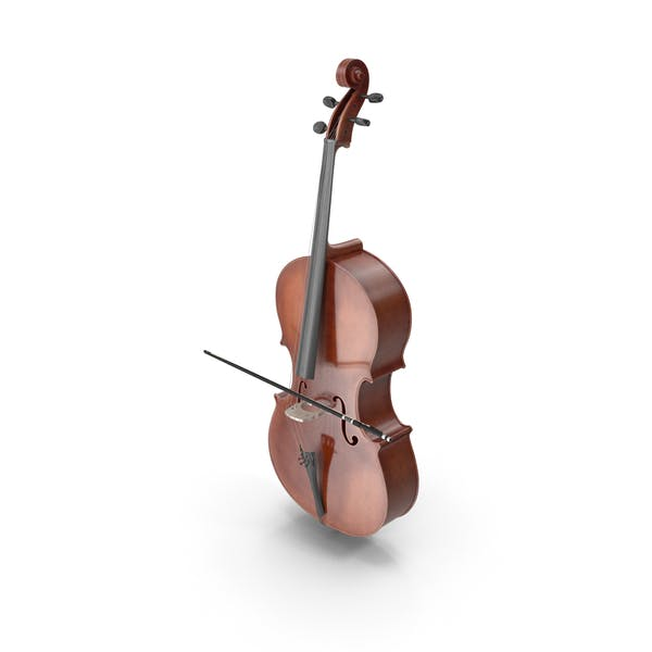 Cello Instrument With Bow