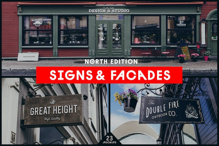Thumbnail for Signs & Facades Mockups (North edition)
