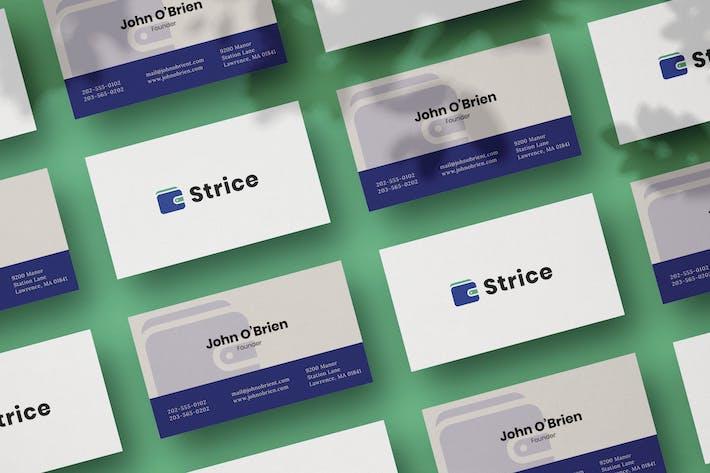 Fintech Business Card