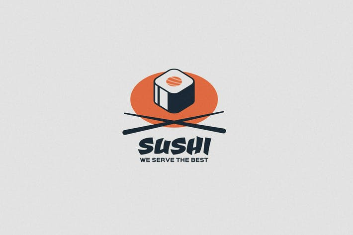 Thumbnail for Sushi Logo Template