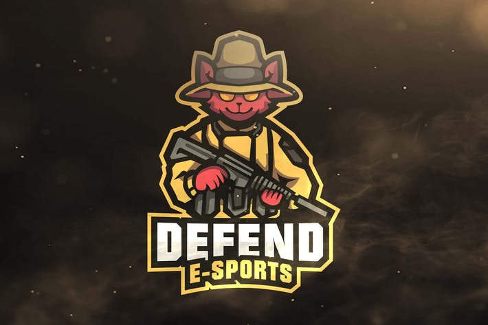 Thumbnail for Defend Sport and Esports Logos