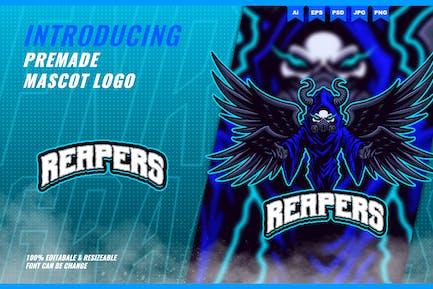 Death Reapers - Mascot Esport Logo Template