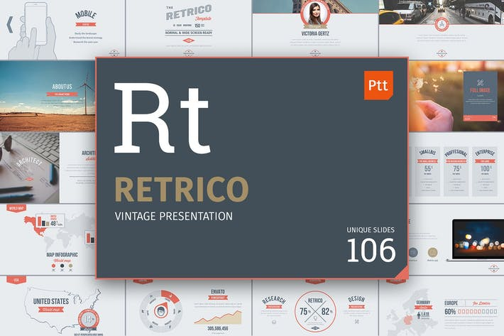 Thumbnail for Retrico: Vintage Slides
