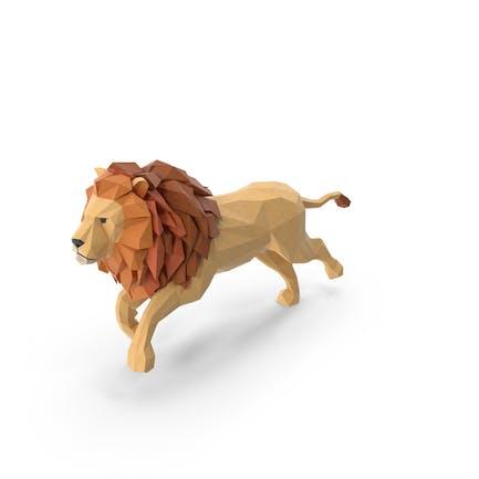Low Poly Lion