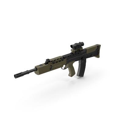 Alcance de rifle de asalto L85A2 adjunto