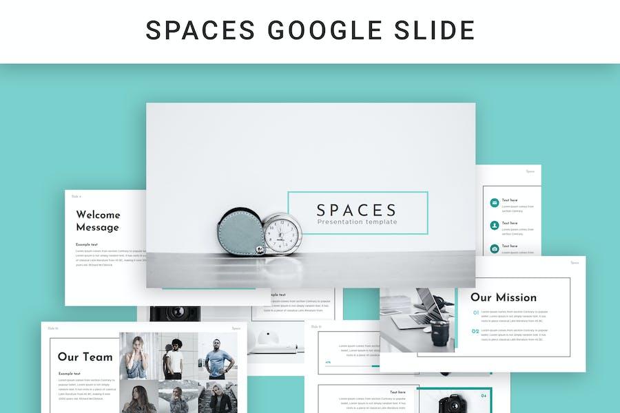 Spaces Google Slide