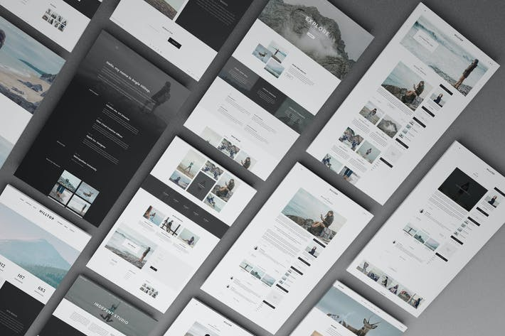 Thumbnail for Perspective Web Mockup 17