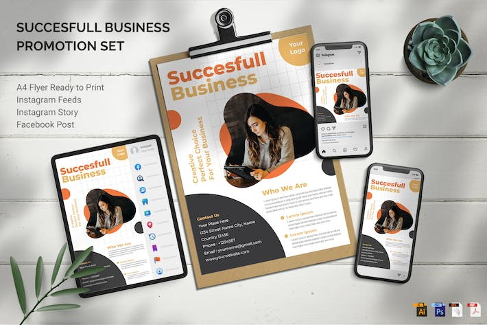 Thumbnail for Business Seminar - Promotion Set