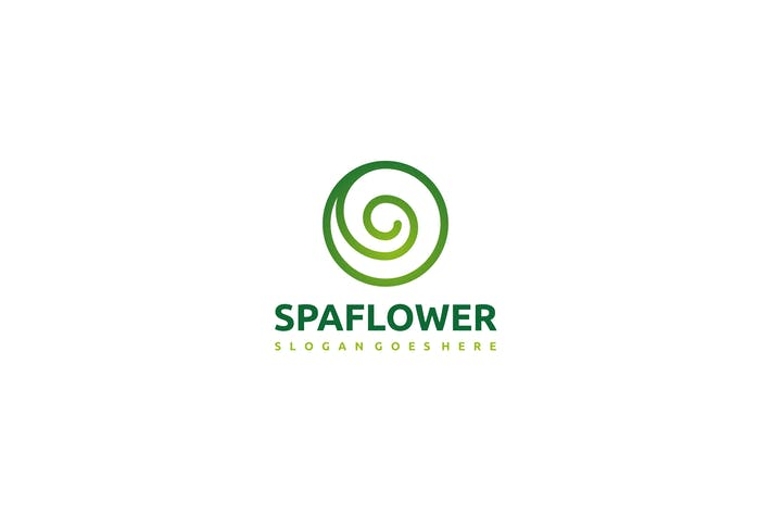 Thumbnail for Spa Flower Logo