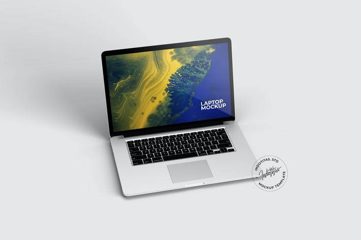 Laptop Screen - Mockup Template