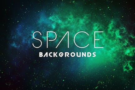 Arrière-plans de l'espace