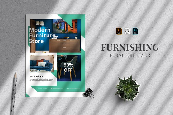 Furnishing - Flyer Template 27