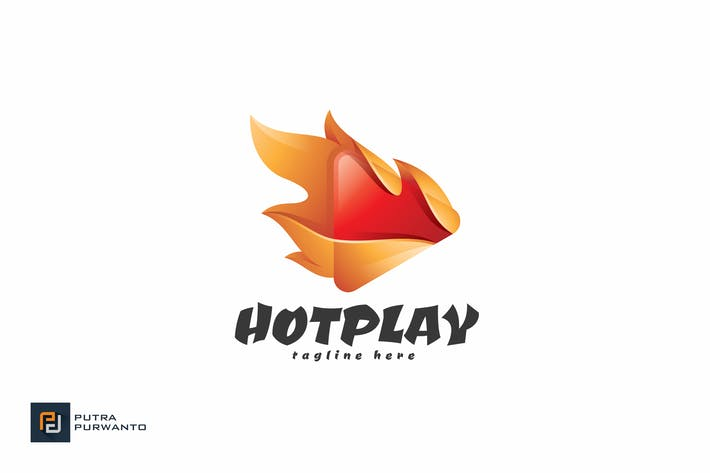 Thumbnail for Hot Play - Logo Template