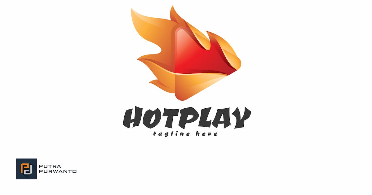 Download Hot Play - Logo Template by putra_purwanto