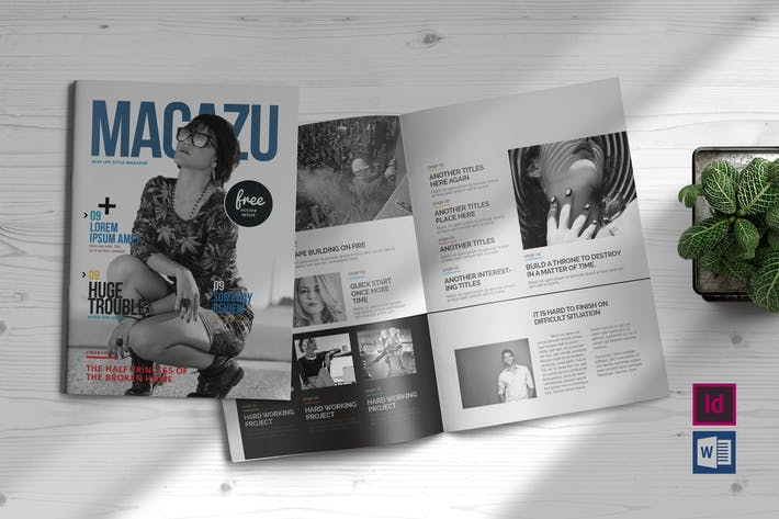 Thumbnail for Multi Purpose Magazine Template