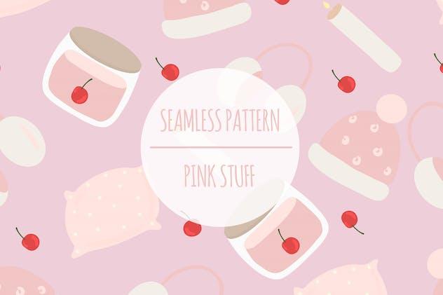 Pink Stuff – Seamless Pattern