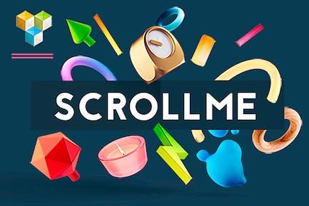 ScrollMe - scroll of elements