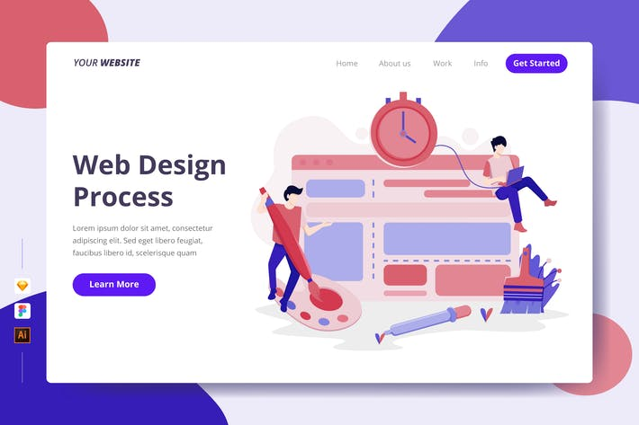 Thumbnail for Web Design Process - Landing Page
