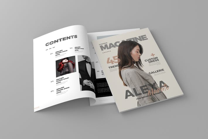 Thumbnail for Magazine Template Vol. 6