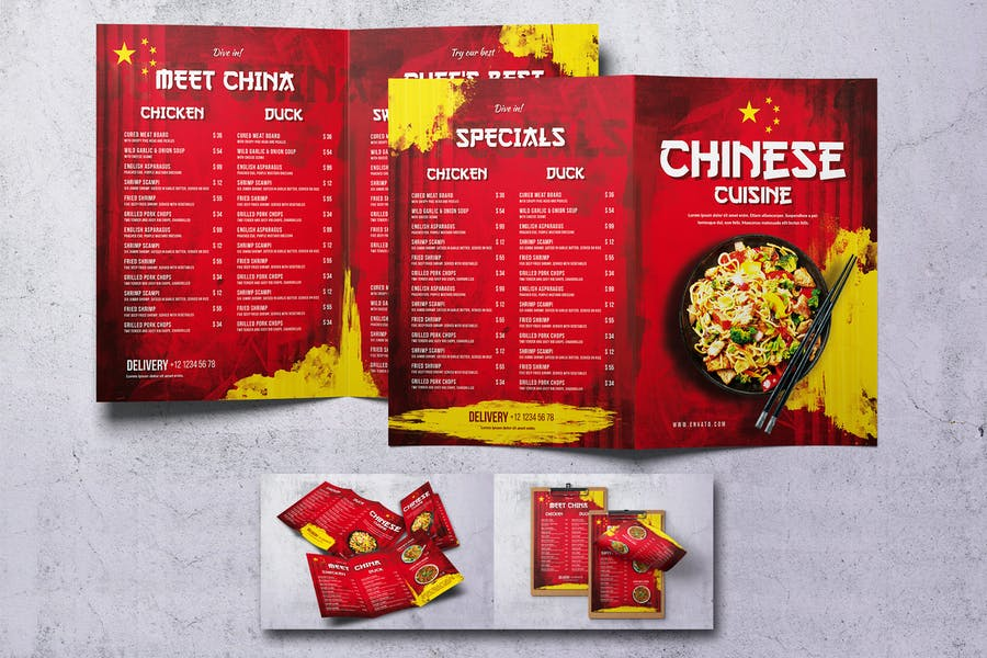 Chinese Food Menu Bundle V2