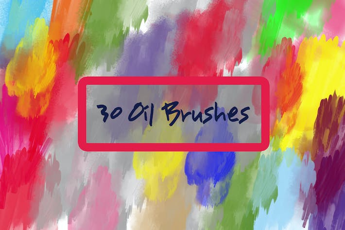 Thumbnail for 30 Oil Brushes