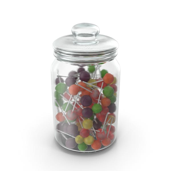 Thumbnail for Jar With Lollipops