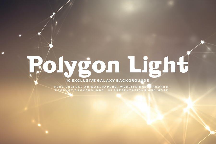 Vintage Polygon Light Backgrounds