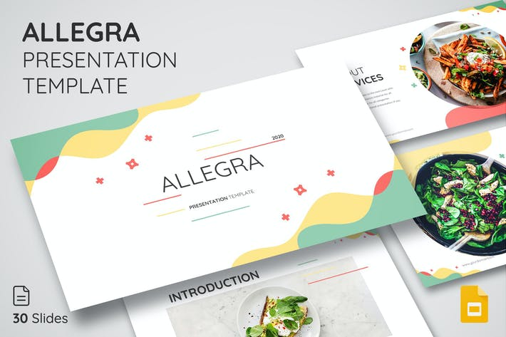 Thumbnail for ALLEGRA - Google Slide Template