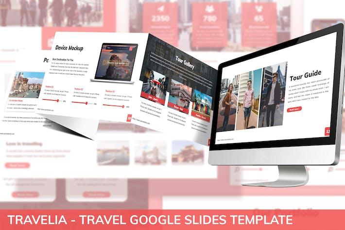 Thumbnail for Travelia - Travel Google Slides Template