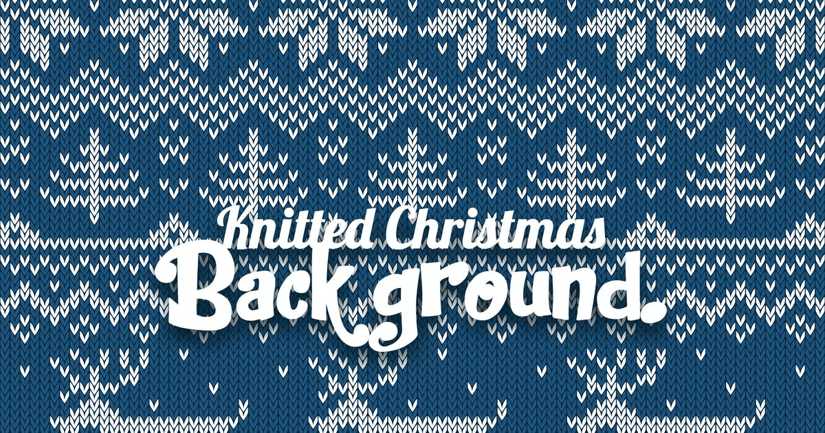 Download Knitted Vector Christmas by YummyDs