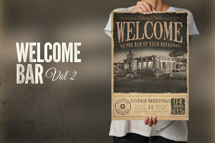 Thumbnail for Welcome Bar Flyer Poster
