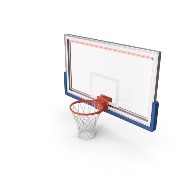 Thumbnail for Basketball Net and Board