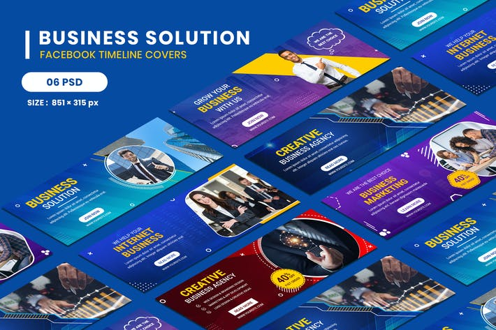 Thumbnail for Facebook Timeline Covers For Business