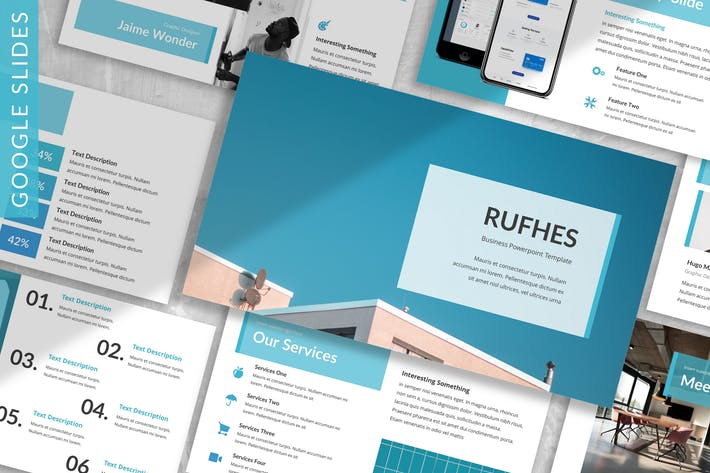 Thumbnail for Rufhes - Business Google Slides Template