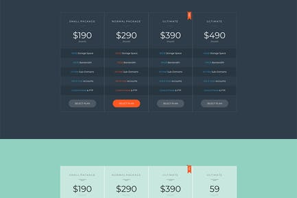 Price HTML Template