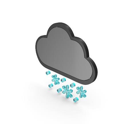 Wetter Icon Schneesturm