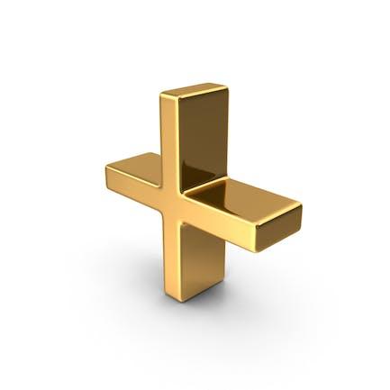 Gold Plus Symbol